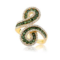 Le Vian Green Diamonds