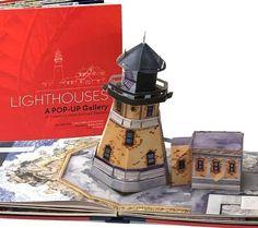 Lighthouse pop up book