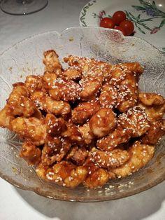 TGI Fridays copycat recipe : Jack Daniels sesame chicken strips. So incredibly good!
