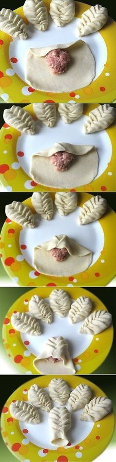 Leaf shaped empanadas for earth day, I am thinking. Bread Shaping, Bread And Pastries, Food Decoration, Snacks, Food Humor, Creative Food, Food Art, Food Inspiration, Love Food