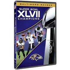 Baltimore Ravens Super Bowl XLVII Champions Commemorative DVD. Raven LogoNfl  StoreAll ... f6ddecdca