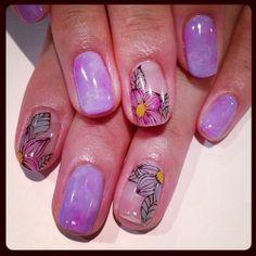 #purple #nail