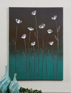 Uttermost Stand Tall Canvas Art  I really   like the two toned, simple picture. -L