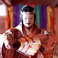 To know more about 能楽, visit Sumally, a social network that gathers together all the wanted things in the world! Character Costumes, Character Art, Character Design, Japanese Mask, Japanese Beauty, Noh Theatre, Theater, Mask Face Paint, Japan Fashion