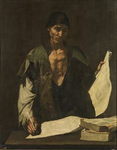 Jusepe de Ribera Archimedes (ca. 1630) Museo del Prado, Madrid, Spain