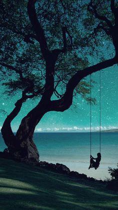 Banshy: Mauna Kea Beach // Bejamin - just beautiful❤️ - Nature Beautiful World, Beautiful Places, Wonderful Places, Beautiful Nature Images, Beautiful Paintings Of Nature, Jolie Photo, Night Skies, Pretty Pictures, Art Pictures