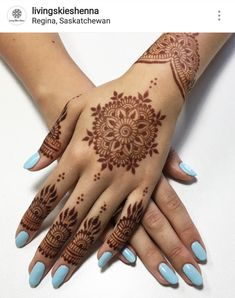 Hey and will be under the same roof on October and to bring you something special. Stephanie will give you the best gel mani of your life then I'll adorn you with some gorgeous natural Book online through her website-link in her bio-and hurry because … Henna Art Designs, Mehndi Designs For Beginners, Wedding Mehndi Designs, Unique Mehndi Designs, Mehndi Design Images, Beautiful Henna Designs, Latest Mehndi Designs, Mehndi Designs For Hands, Nail Designs