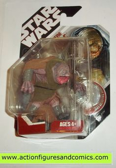 Kenner/Hasbro STAR WARS: 2007 30th anniversary 3 3/4 action figures series HERMI ODLE NEW - still factory sealed in the original package Condition: overall excellent - very minor shelf wear only Figur