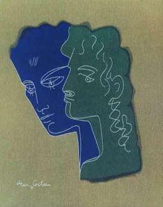 Jean Cocteau - Drawing 4