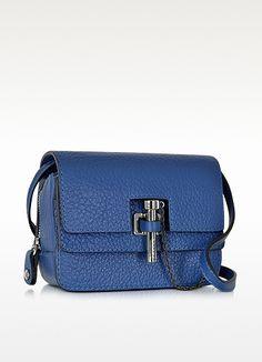 Malher Grained Leather Mini Crossbody Bag - Carven