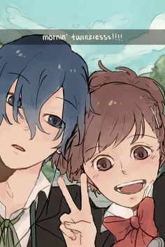 Persona 3 Portable - Makoto Yuki and Minako Arisato.  (Click to see more of Minako's would-be selfies)