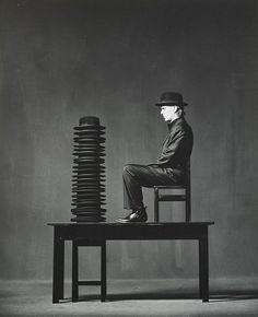 A man who wears many hats...  Sonntagsneurosen, 1991  Jürgen Klauke