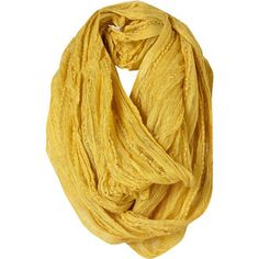 infinite loop in yellow. my dream scarf.