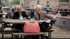 Celia and Alan even have loving arguments in Last Tango in Halifax Last Tango In Halifax, Episode 3, Movie Tv, Baby Strollers, Childhood, British, Actors, Film, Books