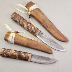 Настоящие якутские ножи от мастера Тарабукина С.В с ножнами из бычьего хвоста