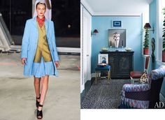 Jonathan Saunders Fall 2012 RTW and Architectural Digest