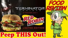 Red Robin® | Terminator Genisys Burger Review! Peep THIS Out!