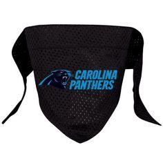 Hunter MFG Carolina Panthers Mesh Dog Bandana, Large - http://www.thepuppy.org/hunter-mfg-carolina-panthers-mesh-dog-bandana-large/