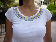 Como Fazer: Camiseta Étnica Customizada