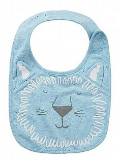 Baby Accessories | Novelty Animal Face Bib | Seed Heritage