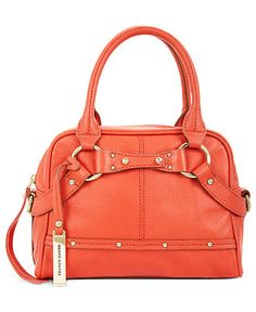 Franco Sarto Handbag, Leather Arroyo Small Satchel - Satchels - Handbags & Accessories - Macy's