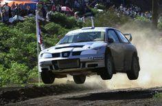 Armin Schwarz. SEAT Córdoba WRC. Race of the Champions. Canary Islands 2001