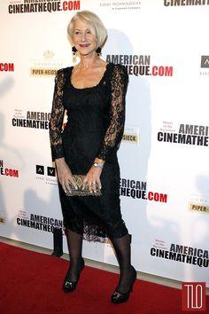 Helen Mirren attends the American Cinematheque 27th Annual Award Presentation in Beverly Hills, California in Dolce&Gabbana.