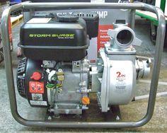 "Storm Surge 2"" Semi Trash Water Pump Viper 6.5hp Gas Engine 92' Head 163 GPM  #StormSurge"