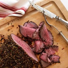 Roast Beef and Shallots with Creamy Horseradish Sauce from WomansDay.com #protein #vegetables #myplate