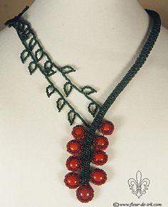 Ripe berries necklace N1029 by Fleur-de-Irk on DeviantArt