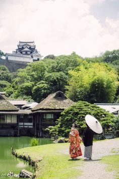 彦根城ながめて*和装前撮り  *elle pupa blog*