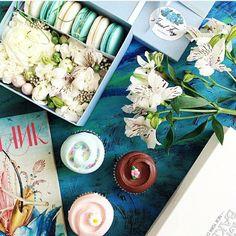 #cupcake #macaron