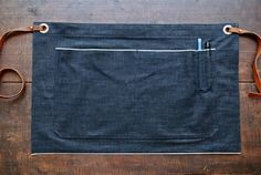 Selvedge Denim Half Apron // Made in U.S.A. by AmericanNative