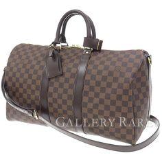 ルイヴィトン ボストンバッグ ダミエ キーポル45 トラベルバッグ 旅行用バッグ N41428 LOUIS VUITTON ヴィトン バッグ