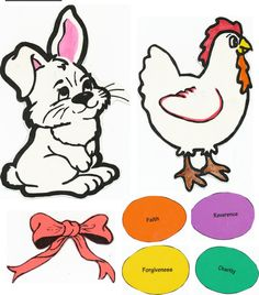 Symbols of Easter FHE Lesson & the story of how the Easter Bunny came to be (cute story that ties in the bunny with Jesus Christ)