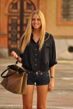 Chiara Ferragni with Zara - t-shirt, Fendi - bag