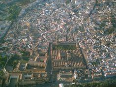 Mezquita córdoba foto aerea