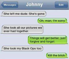 Haha ...... Soo funny