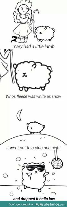 Nursery rhymes changed for the current generations,,,giggles!