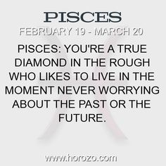 Fact about Pisces: Pisces: You're a true diamond in the rough who likes to... #pisces, #piscesfact, #zodiac. More info here: https://www.horozo.com/blog/pisces-youre-a-true-diamond-in-the-rough-who-likes-to/ Astrology dating site: https://www.horozo.com #chinesenumerology