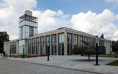 The Town Hall Integration Centre in Zduńska Wola, design: 90 Architekci, investor: Municipality of Zduńska Wola, 2014, photo: courtesy of the studio / http://www.a90.pl/en