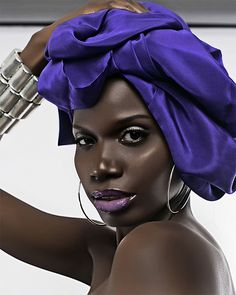 Incredibly gorgeous! I love deep, dark, chocolate! Black is still very, very beautiful!!! - Nicky J.