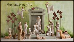 Christmas in July, given away by Chautona Havig on her blog.  Great author! Image courtesy of Demdaco