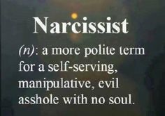 One way to put it and accurately I might add define many