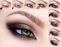 Макияж: кошачий глаз. | Макияж глаз