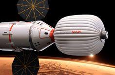INSPIRATION MARS Le nouveau visage du «tourisme» spatial.