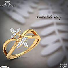 Let her remember you every moment. #ring #enagement #wedding #GoldJewelleryDesign