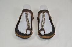 Pedro Garcia Brown Sandals