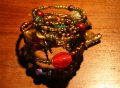 Bracelet charms   multiple accessories  by Violetastore on Etsy, $25.00