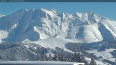Combloux webcam Le Mont Joly Skiweather.eu